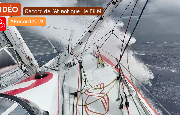 Record de l'Atlantique : Le Mini-film