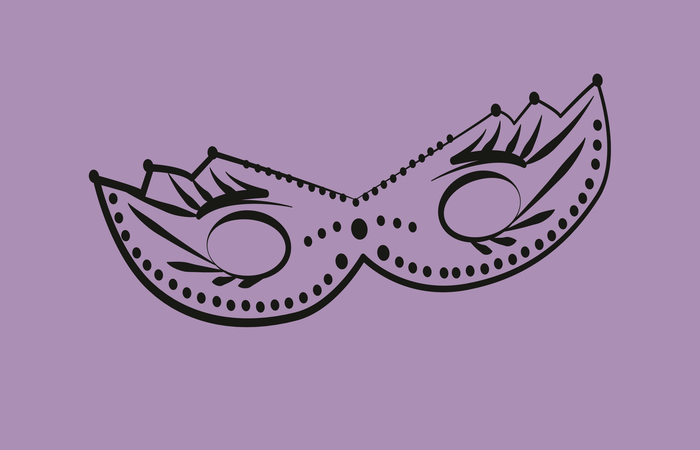 Masque  Carnaval au cacao