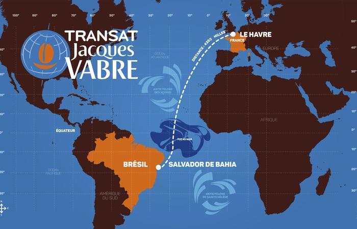 Transat Jacques Vabre : Kurs verstehen