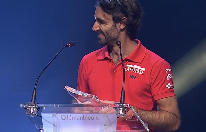 Sonderpreis der Jury für Alan Roura bei der Genfer Sportnacht